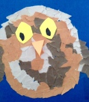 Our owl now has eyes!